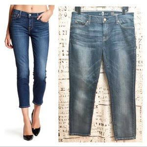 7 For All Mankind Crop Roxanne Crops Jeans